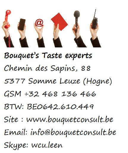 NAW gegevens Bouquet